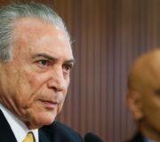 17/01/2017. Crédito: Beto Barata/PR. Brasil. Brasília - DF. Reunião sobre Segurança. (E/D) Presidente Michel Temer e o Ministro da Justiça e Cidadania, Alexandre de Moraes.